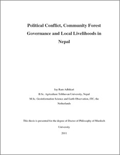 conflict resolution and governance in nepal The issues of civilian crisis prevention, conflict resolution and post-conflict peace   and preparation of a book on conflict resolution and governance in nepal,.