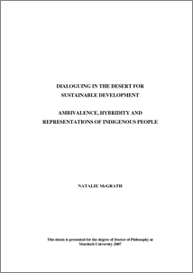 sustainable development thesis pdf
