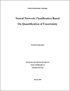 thesis of neural network with backpropagation Neural networks (nn) are important data mining tool used for classi cation and clustering it is an attempt to build machine that will mimic brain activities and be able to learn nn usually learns by examples.